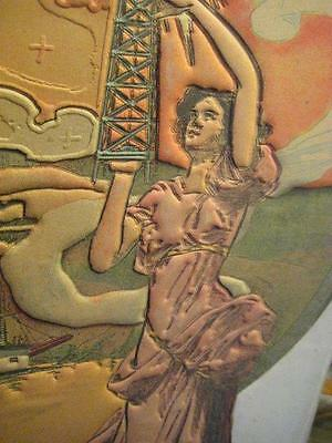 1909 Theodore Langguth Poster San Francisco Chronicle California Oil Gold Mining