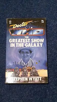 doctor who book - THE GREATEST SHOW IN THE GALAXY - 1st edition