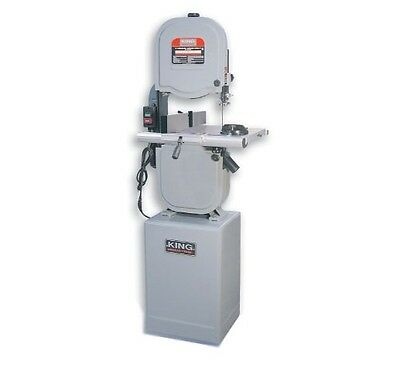 """King Canada Tools KC-1433FXR 14"""" WOOD BANDSAW WITH RIP FENCE & RESAW GUIDE"""