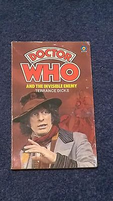 doctor who book - THE INVISIBLE ENEMY