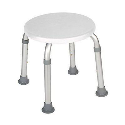 Drive White Shower Stool Height Adjustable 300lbs RTL12004KD *FREE SHIPPING*