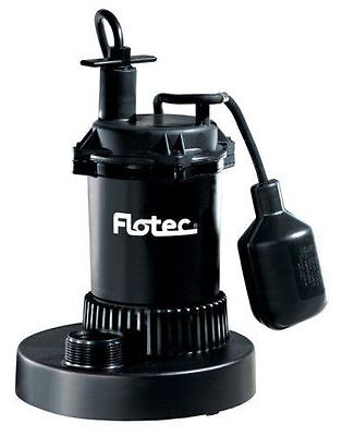 Flotec 1/3 HP Submersible Sump Pump with Tethered Switch FP0S2400A