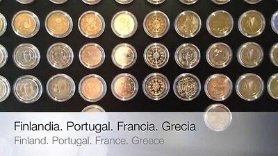 2 euro coins x 147 different all new BUNC from rolls - 147 coins all years all c