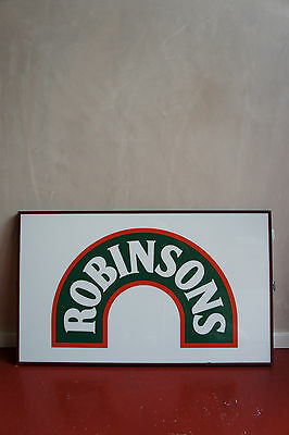Large Robinsons Drink Sign