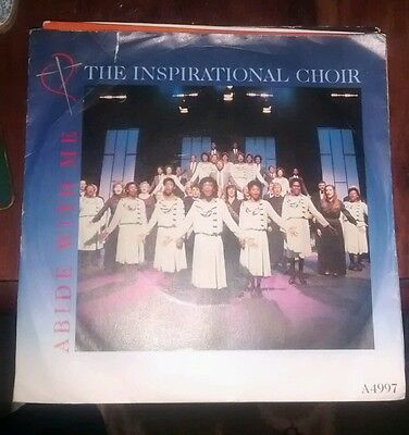 "Gospel - The Inspirational Choir Abide With Me 7"" vinyl"