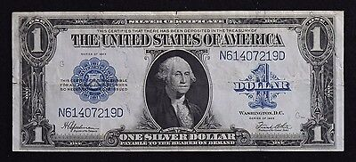 1923 Series $1 Large Silver Certificate Note Speelman and White Signatures