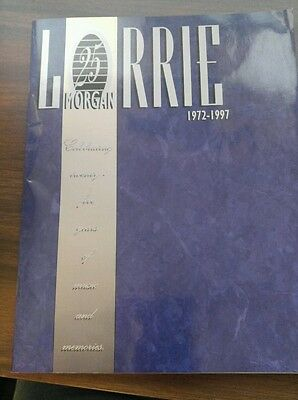 RARE Lorrie Morgan Book with Sammy Kershaw Headshot with auto and Bumper Sticker