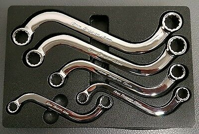 Snap On Spanners. Obstruction 'S' Wrenches. 10-19mm. SBXM. (Including VAT).