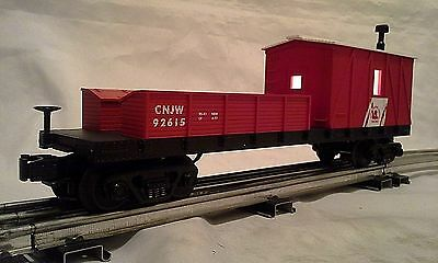 Mth Rail King New Jersey Central Crane Tender # Cnjw 92615  Lighted Minty!!
