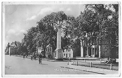Vintage Postcard.The Square and Rosehall, Grantown-on-Spey. Used 1950. Ref:71173
