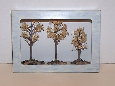 BOYDS VILLAGES Retired 19806 Spring Is Sprung Arboretum Trees Bear Town~Set of 3