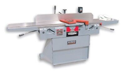 "King Canada Tools KC-125FX 12"" PARALLELOGRAM JOINTER WITH SPIRAL CUTTERHEAD"
