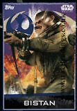 Topps Star Wars Rogue One Bistan No 68 Trading Card Comb P&p