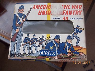 "Collectable H0 & 00 Airfix ""American Civil War Union Infantry"" 48 pieces"