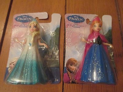 Frozen Elsa and Anna magiclip dolls new gift