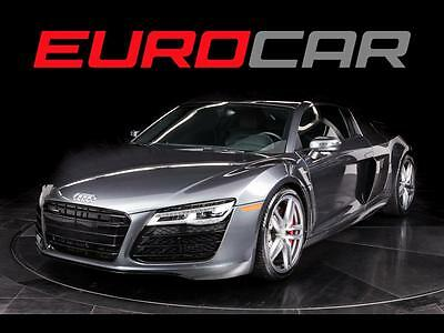 2015 Audi R8  2015 Audi R8 5.2 v10, STUNNING, HIGHLY OPTIONED, PRISTINE CONDITION