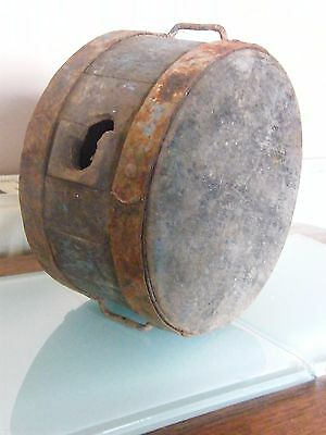 Rare Antique Military 1862 British Army Wooden Canteen
