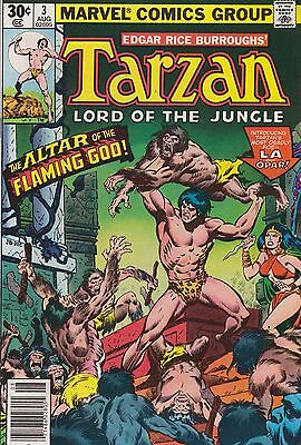 Tarzan Lord Of The Jungle #3 Marvel 1977 Combined Shipping Available