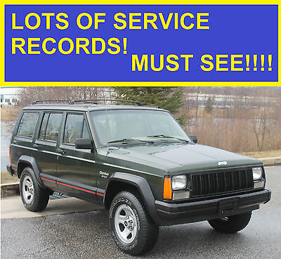 1995 Jeep Grand Cherokee Laredo Sport Utility 4-Door 1995 JEEP CHEROKEE 5-SPEED MUST SEE!!! CRAZY MATINENCE!! MUST SEE 96 97 98 99 00