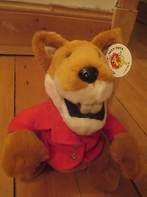 Basil Brush plushpals soft plush toy gift 10 inch new with tag