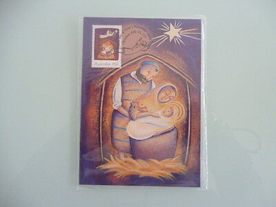 AUSTRALIA 2002   Christmas maxi card set x 3 still sealed