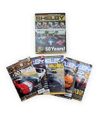 Shelby Annual Magazine  2007-2011 Box Set Limited Edition