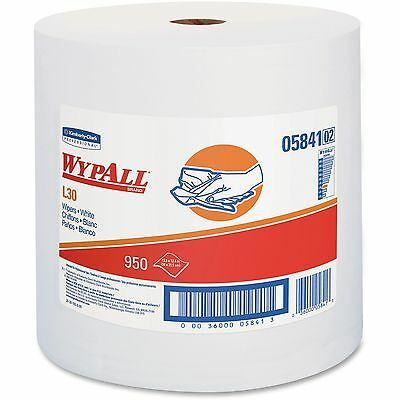 Wypall L30 Wipers 12 2/5 x 13 3/10 White 05841