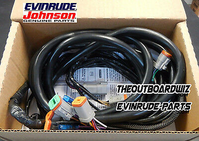 IGNITION WIRE HARNESS 15ft EVINRUDE JOHNSON RIGGING CABLE ASSY BRP#176340