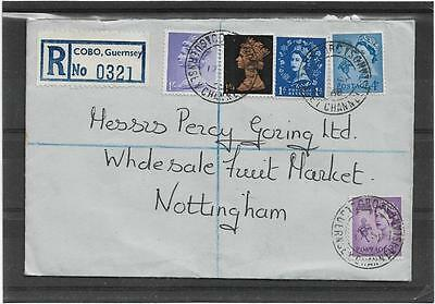 c1968 Guernsey Wildings,English Wildings & Machins Registered Cachet  Nottingham
