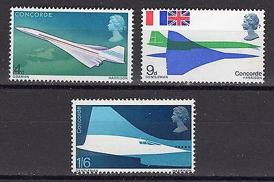 SG784-786 1969 CONCORDE Unmounted Mint GB