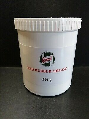 CASTROL  RED RUBBER GREASE. 500g BRAKE CALIPER REBUILDS