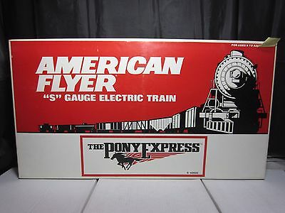 Lionel American Flyer 6-49600 Union Pacific Pony Express Set Free Ship