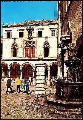 DUBROVNICK- PALATA - SPONZA-  posted stamp intact
