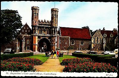 St Augustine's Gate & College Canterbury Posted 1968