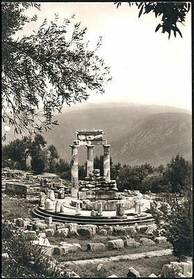 Historical View Of  Delphi Greece Athens  Posted 1961