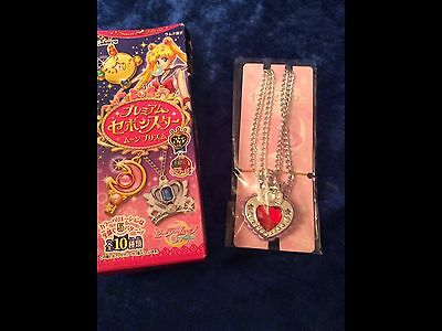Sailor Moon Anime / Cosplay Mystery Gashapon box Heart Necklace *NEW *