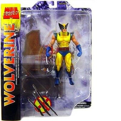 Diamond Select Marvel Select - Yellow Wolverine Collector Edition Figur