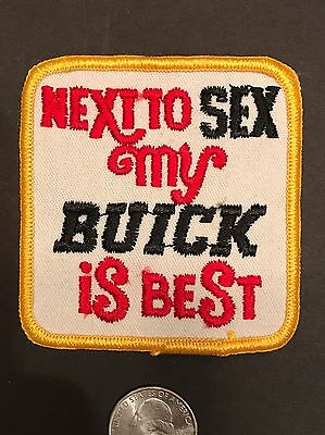 Buick Patch Auto Car Sex Old Patch