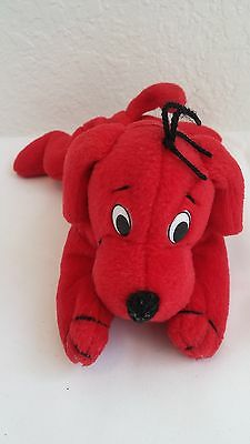 """Clifford the Big Red Dog 7"""" Beanie Plush Toy"""