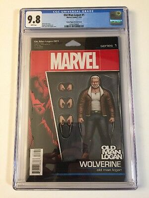 Old Man Logan 1 Action Figure Variant CGC 9.8