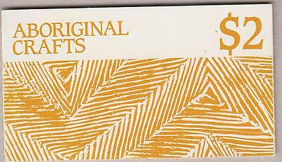 Australian Aboriginal Crafts Stamp Booklets 80C & $2 As Issued (2)