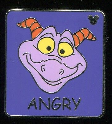 WDW Hidden Mickey 3 Angry Figment Disney Pin 65880
