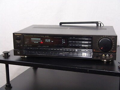 Vintage Technics SA-R377 receiver amplifier - made in Japan