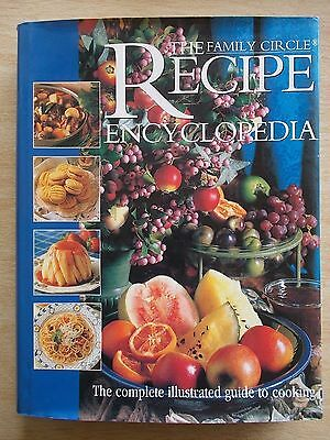 The Family Circle Recipe Encyclopedia~A-Z~Cookbook~Recipes~496pp HBWC~1996