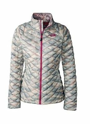 $199 The North Face Thermoball Full Zip camo Camouflage Gray Camo Jacket Size S