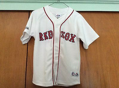 Boys Baseball Jersey Boston Red Sox Majestic