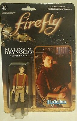 Firefly Captain Malcom Reynolds Action Figure ReAction