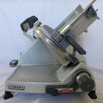 Hobart 2812 Commercial Manual Meat Cheese Turkey Butcher Deli Grocery Slicer