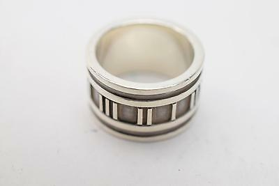 Authentic Tiffany & Co. Ring Atlas Silver 925 US 5  138490