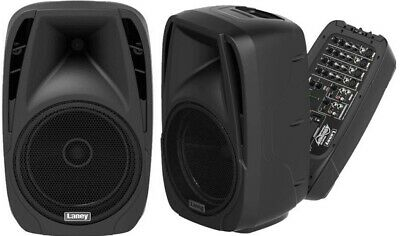"Laney Audiohub Ah210 400 Watt (200W + 200W) 2 X Active 1 X 10"" Pa Speaker System"
